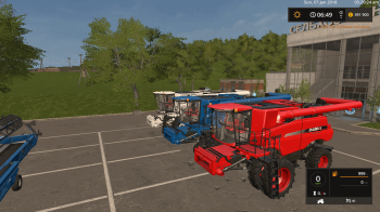 Комбайн CASE IH 9230 PACK V1.0 для Farming Simulator 2017
