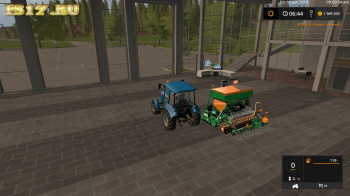 Сеялка AMAZONE AD-P 303 V1.0 для Farming Simulator 2017