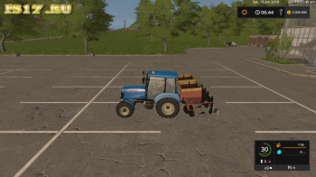 Сеялка СН - 4 Б v 1.1 для Farming Simulator 2017