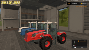 Трактор ХТЗ 243К v 1.0.0.0 для Farming Simulator 2017