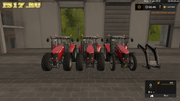 Трактор MASSEY FERGUSON 7400 V1.0 для Farming Simulator 2017