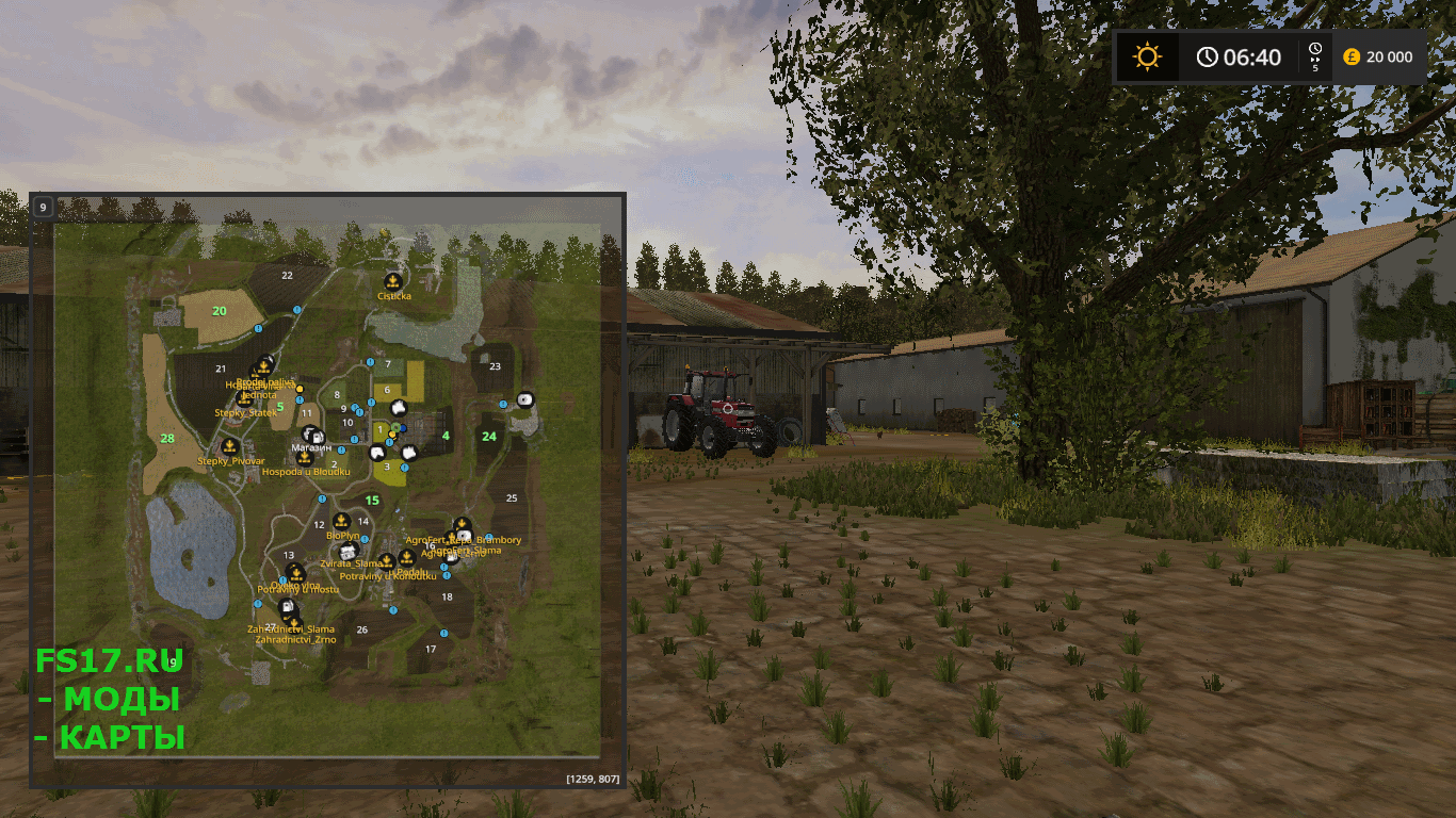 Карта ZD MALVINY 1992 V1.1.1 для Farming Simulator 2017
