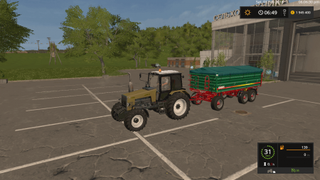 Пак прицепов METALTECH DB 14 3-AXIS V1.0.0.1 для Farming Simulator 2017