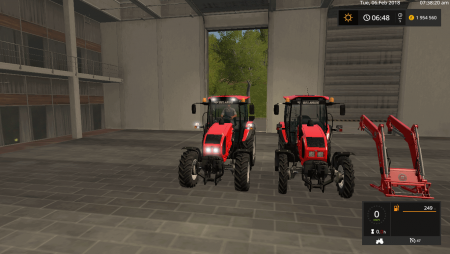 Трактор МТЗ 1523 v 1.1 для Farming Simulator 2017