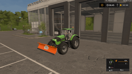 Отвал ASSALONI TECNA 30 V1.0.0.0 для Farming Simulator 2017