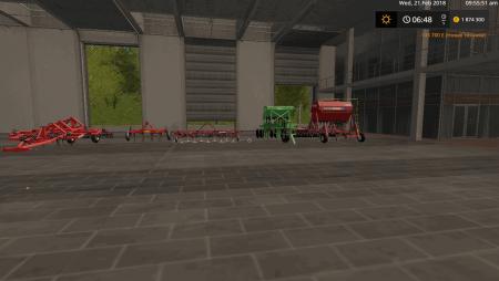 Пак полевого оборудования v 0.2 Open Beta для Farming Simulator 2017