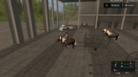 Пак Rideable Pony v 1.0 для Farming Simulator 2017