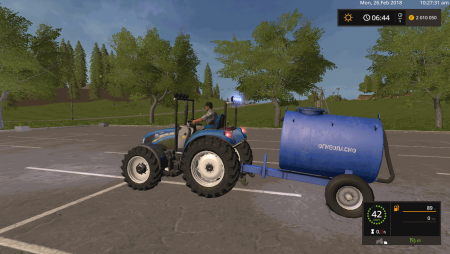 Цистерна для топлива v 1.0 для Farming Simulator 2017