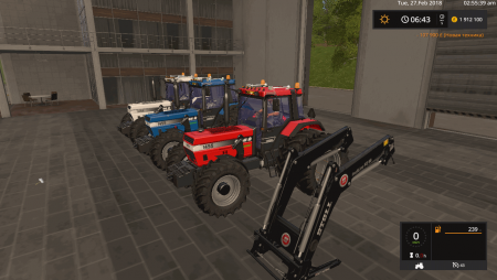 Трактор CASE IH 1455XL V1.1 для Farming Simulator 2017