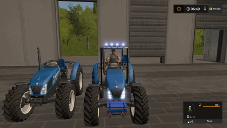 Трактор New Holland T 4.75 v 1.1 для Farming Simulator 2017
