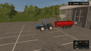 Прицеп KRAMPE BB900 V1.0.0 для Farming Simulator 2017