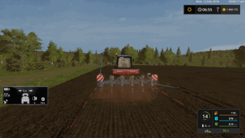 Сеялка MONOSEM MONOSHOX NG PLUS M - DH V1.0 для Farming Simulator 2017