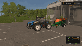 Сеялка AMAZONE EDX6000-DS V1.0 для Farming Simulator 2017