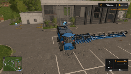 Пак NEW HOLLAND CR1090 PACK  V1.0 для Farming Simulator 2017