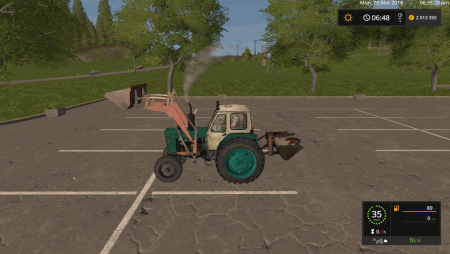 Трактор ЮМЗ-6Л v 1.0.0.2 для Farming Simulator 2017