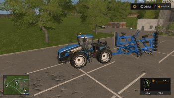 Плуг FORD DISC 242 V1.0 для Farming Simulator 2017