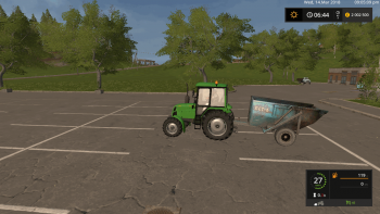 Прицеп ПТС 6 v 1.0  для Farming Simulator 2017