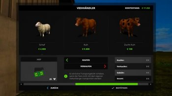 Объект GE ADVANCED ANIMALS PREFAB (PREFAB) V1.0 для Farming Simulator 2017