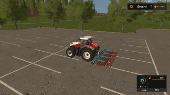 Культиватор BRENIG SAATBEETKOMBI V1.0 для Farming Simulator 2017