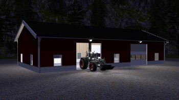Объект GE NORDIC FARM BUILDINGS V1.0 для Farming Simulator 2017