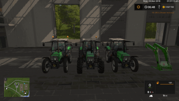 Пак тракторов DEUTZ AGROSTAR 4.71 - 6.31 SET V1.2.0.0 для Farming Simulator 2017