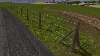 Объект GE BARBED FENCE KIT (PREFAB) V1.0.0.0 для Farming Simulator 2017
