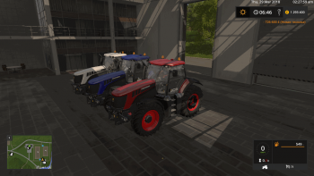 Трактор JCB FASTRAC 8000 V1.2 для Farming Simulator 2017