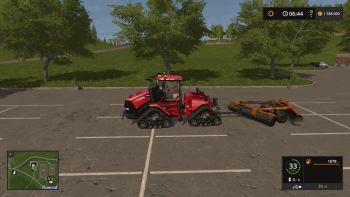 Плуг BALDAN CRI-E 36 DISCOS TECHFARM V1.0.0.1  для Farming Simulator 2017