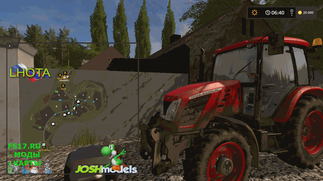 Карта LHOTA MAP V2.6.0.5 FIXED для Farming Simulator 2017