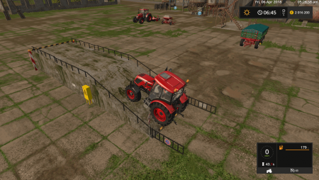 Покупаемая рампа LOADING RAMP 10 METERS LONG V1.0 для Farming Simulator 2017