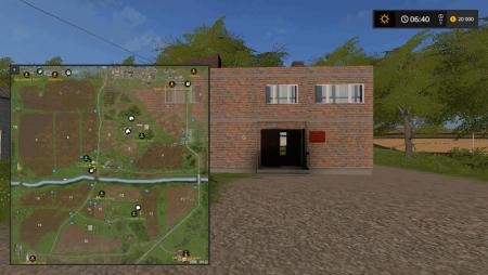 Карта Один Российский край v 1.0 для Farming Simulator 2017