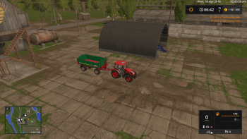 Хранилище PLACEABLE STORAGE FOR FEED V1.1 для Farming Simulator 2017