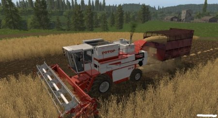 Комбайн СК-10 Ротор v 0.2.0.0 beta  для Farming Simulator 2017