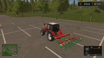 Культиватор UNIA KOS V1.0.0.0 для Farming Simulator 2017