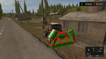 Трамбовщик силоса HOLARAS STEGO 285 SIDESHIFT V1.0.0.0  для Farming Simulator 2017