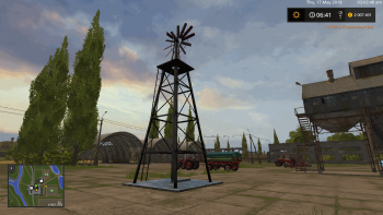 Точка набора воды WINDMILL WATERSUPPLY V1.0.0.0 для Farming Simulator 2017