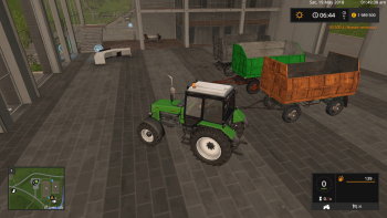 Пак прицепов MBP 6.5 SILAGE TRAILER PACK V1.0 для Farming Simulator 2017