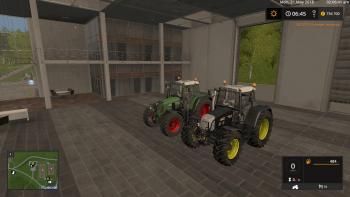Трактор FENDT 820 VARIO TMS V1.4.0.0 для Farming Simulator 2017