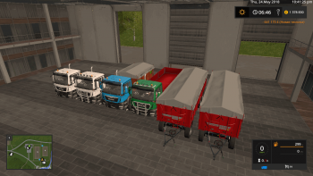 Пак MAN AGROTRUCK PACK DH BY BONECRUSHER6 V2.0 для Farming Simulator 2017