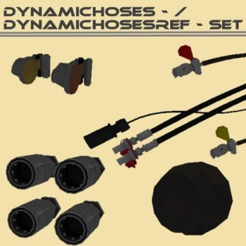 Объект GE DYNAMICHOSES / DYNAMICHOSESREF VARIATIONS V1.0 для Farming Simulator 2017