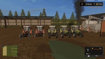 Пак тракторов HURLIMANN v 1.1 для Farming Simulator 2017