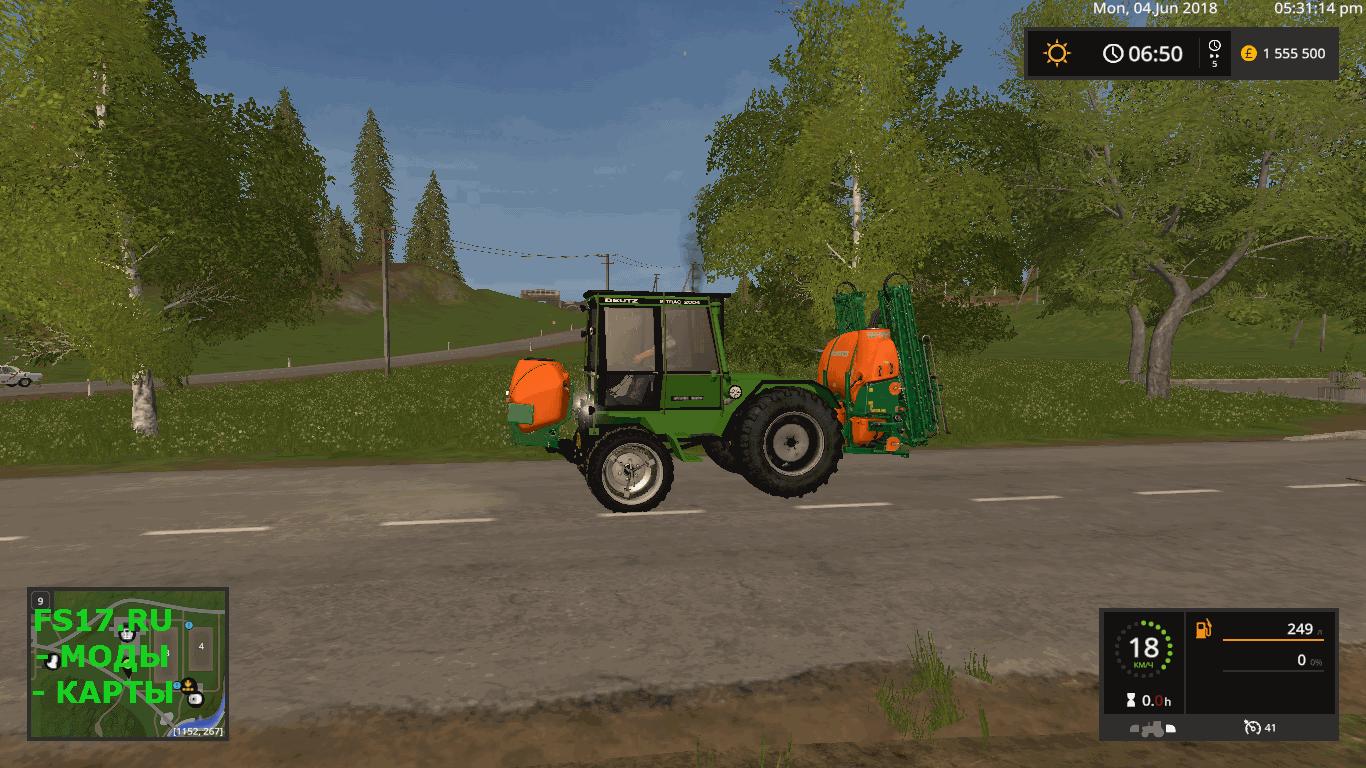 Трактор DEUTZ-FAHR INTRAC V1.1.0.0 для Farming Simulator ...