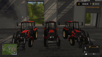 Трактор MTZ 82 TS BELARUS V1.0 для Farming Simulator 2017