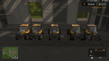 Трактор JCB FASTRAC 150 TURBO V1.0 для Farming Simulator 2017