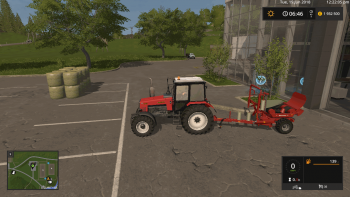 Обмотчик тюков ENOROSSI BW300 V1.1.0 для Farming Simulator 2017