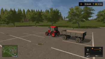 Прицеп MBP 6.5 V1.0 для Farming Simulator 2017