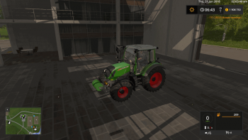 Противовес BARREL WEIGHT 570KG V1.0 для Farming Simulator 2017