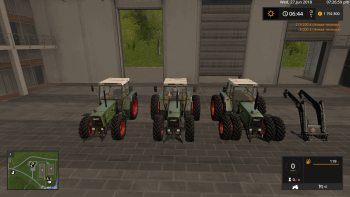 Трактор FENDT FARMER 310 / 312 TURBOMATIK V2.0 для Farming Simulator 2017