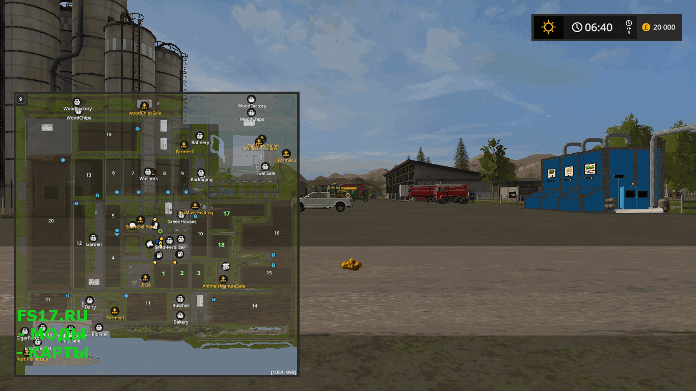 Карта CANADIAN FARMING MAP UPDATE 1 FINAL REV1 для Farming Simulator 2017