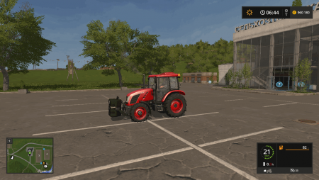 Противовес SAPHIR ST 800 V1.1 для Farming Simulator 2017